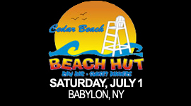 Cedar Beach Hut July 1
